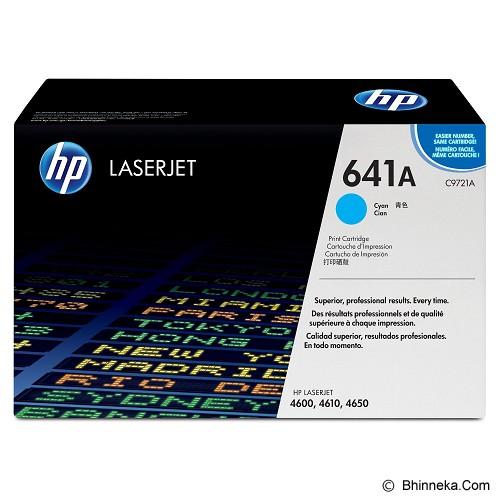 HP Cyan Toner 641A [C9721A] - Toner Printer Hp